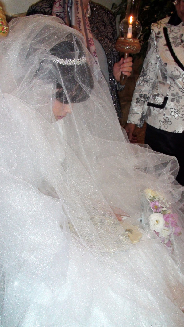 Bride Praying