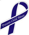 Prevent Child Abuse ribbon